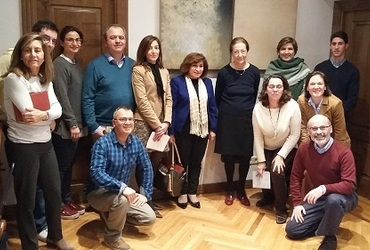 pascale activities in Madrid 12-13-01-2017