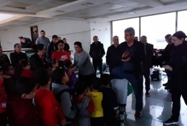 Hammurabi Human Rights Organization has implemented a field relief project on the occasion of Christmas and the start of the New Year 2020, with support from the organization  International Christian Solidarity CSI, Erbil, on Tuesday 10/12/2019