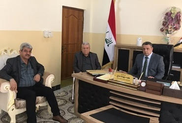 Hammurabi Human Rights Organization is completing the first stage of the road lighting and road safety project in Karaqoush and Karamlis within the Nineveh Plain as part of the initiative to promote community resilience, The work of the partial completion