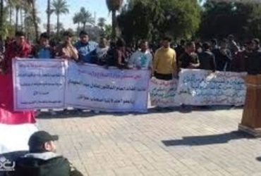 On Saturday April 13 2019, the Hammurabi Organization for Human Rights continued to visit the protesters in Tahrir Square in Baghdad to see what was going on there.