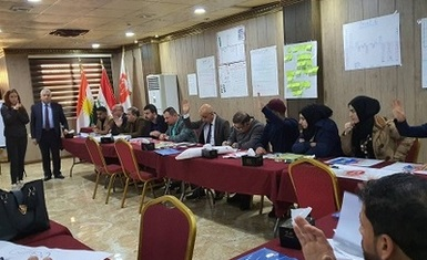 Hammurabi Human Rights Organization held a training workshop to promote pluralism, religious freedom, and community peace