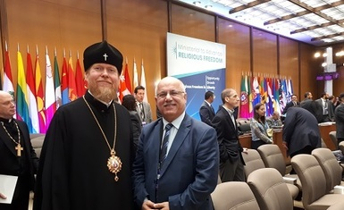William Warda met number of Iraqi religious leaders, personalities and leaders of researchers, writers and activists from civil society organizations in Washington