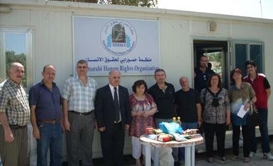 HHRO delivering aid to Iraqis returning to their homeland