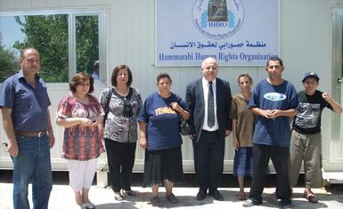 HHRO providing support for the handicapped in Baghdad and Nineveh