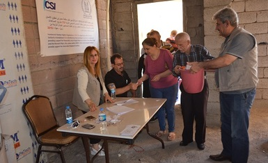 Hammurabi Human Rights Organization continues to carry out its Relief Program for 2016 assisting internally displaced people.