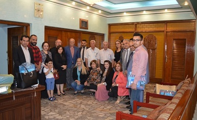 Implementation of the program of the Alliance Network of Iraqi Minorities with the support of the Norwegian People's Aid Organization, Hammurabi Organization holds a dialogue seminar on Article 372 of the Iraqi Penal Code.