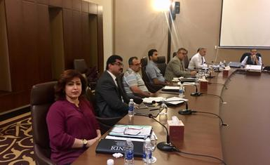 Hammurabi Human Rights Organization contribute in the workshop held by National Democratic Institute NDI to develop a road map towards the upcoming provincial elections in its next version