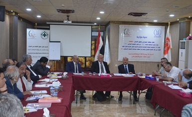 Launching the second symposium carried out by Hammurabi Human Rights Organization within the program of Alliance Network of Iraqi Minorities on Article 372 of the Iraqi Penal Code.