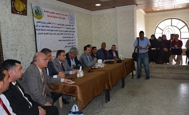 The first joint project between Hammurabi Human Rights Organization and the Ministry of Labor and Social Affairs for relief definition was launched.