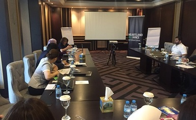 Mrs. Pascale Warda participate in the workshop on strengthening the stability process in Iraq
