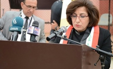Mrs. Pascale Warda participated in the annual festival held by Al-Hamdaniya University.