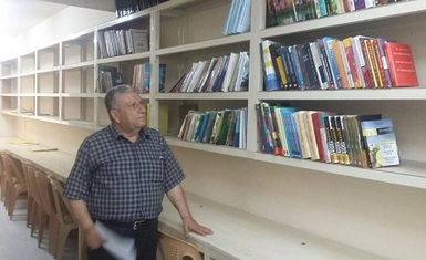 Hammurabi Human Rights Organization contribute in the establishment of Al-Hamdaniya University library