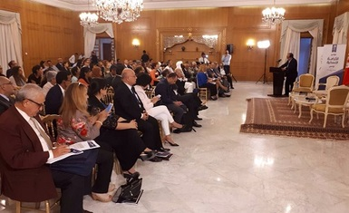 Mr. William Warda participate in a conference held in Tunis on the subject of human dignity