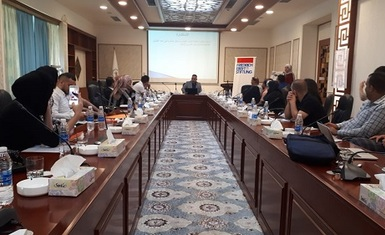 Mr. William Warda participate in a training workshop on the Universal Periodic Review  ( UPR) of human rights in Iraq
