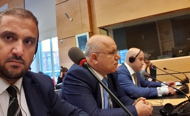A delegation of the Alliance of Iraqi Minorities Network including Mr. Husam Abdullah and Mr. William Warda, participated in the activities of the Minority Forum held in Geneva discussing Iraq's report to the Committee on the Elimination of Racial Discrimination