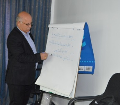 Hammurabi Human Rights Organization held a training workshop on public relations.