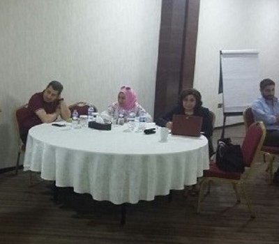 Mrs. Pascale Warda participated in a workshop held in Erbil to draw up a field strategy to counter the effects of violent extremism in Nineveh province.
