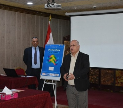 Hammurabi Human Rights Organization held a workshop with support and cooperation of (Freedom House) Organization to promote religious freedom, pluralism and community peace in Iraq.