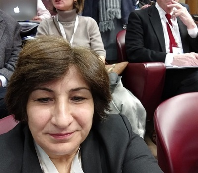 Mrs. Pascale Warda, Chairwoman of Hammurabi Human Rights Organization, participated in the International Conference on Sustainable Human Development held at the Vatican